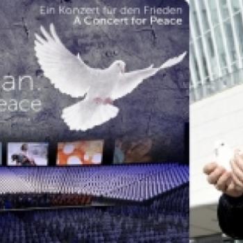 "Concert for Peace am 02.11. in Berlin - ""The Armed Man – A Mass for Peace"" mit 2000 Chorsängern aus 27 Ländern"